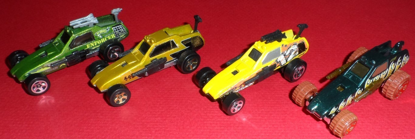 Hot Wheels Enforcer Set 1