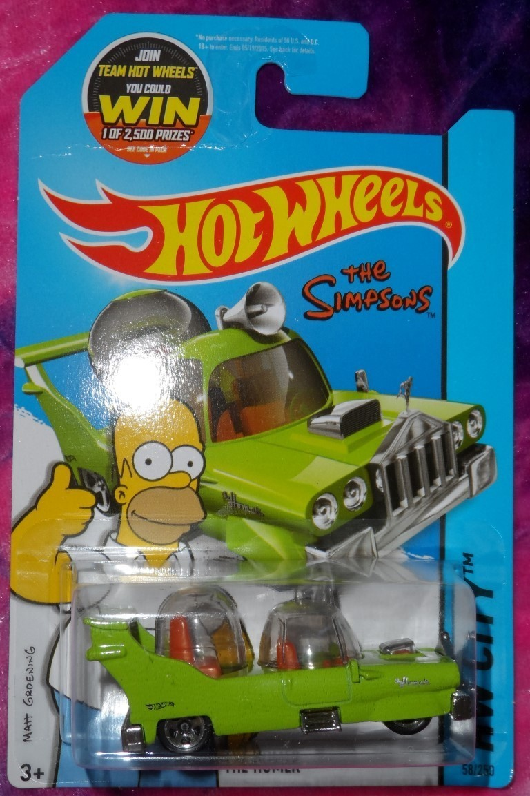 "Hot Wheels ""The Homer"""