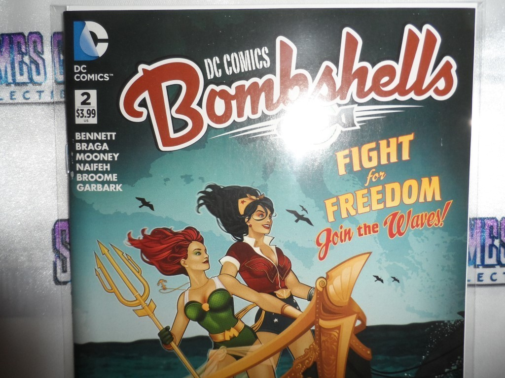 DC Comics Bombshells #2