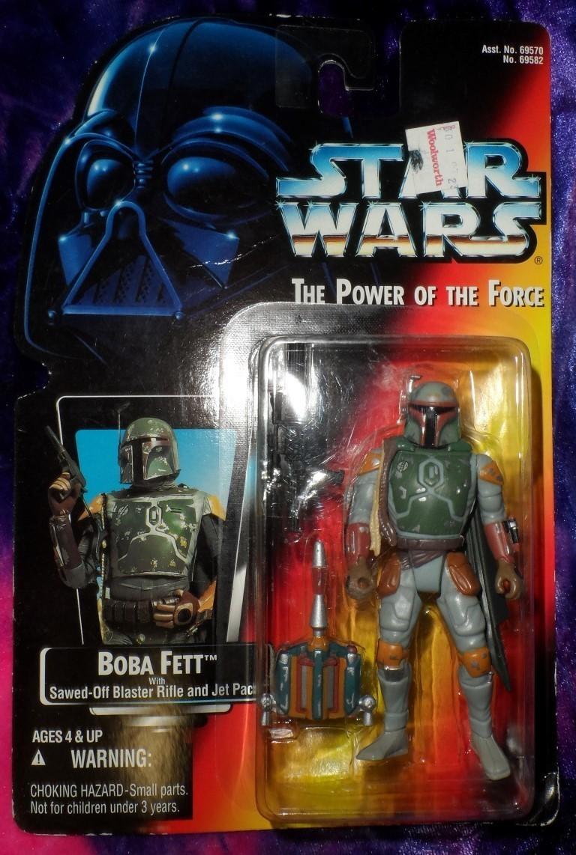Star Wars The Power of Force Boba Fett