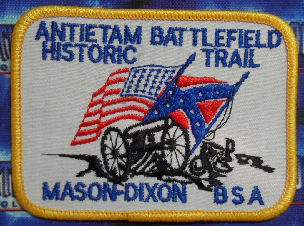 BSA Patch : Antietam Battlefield Historic Trail : Mason-Dixon