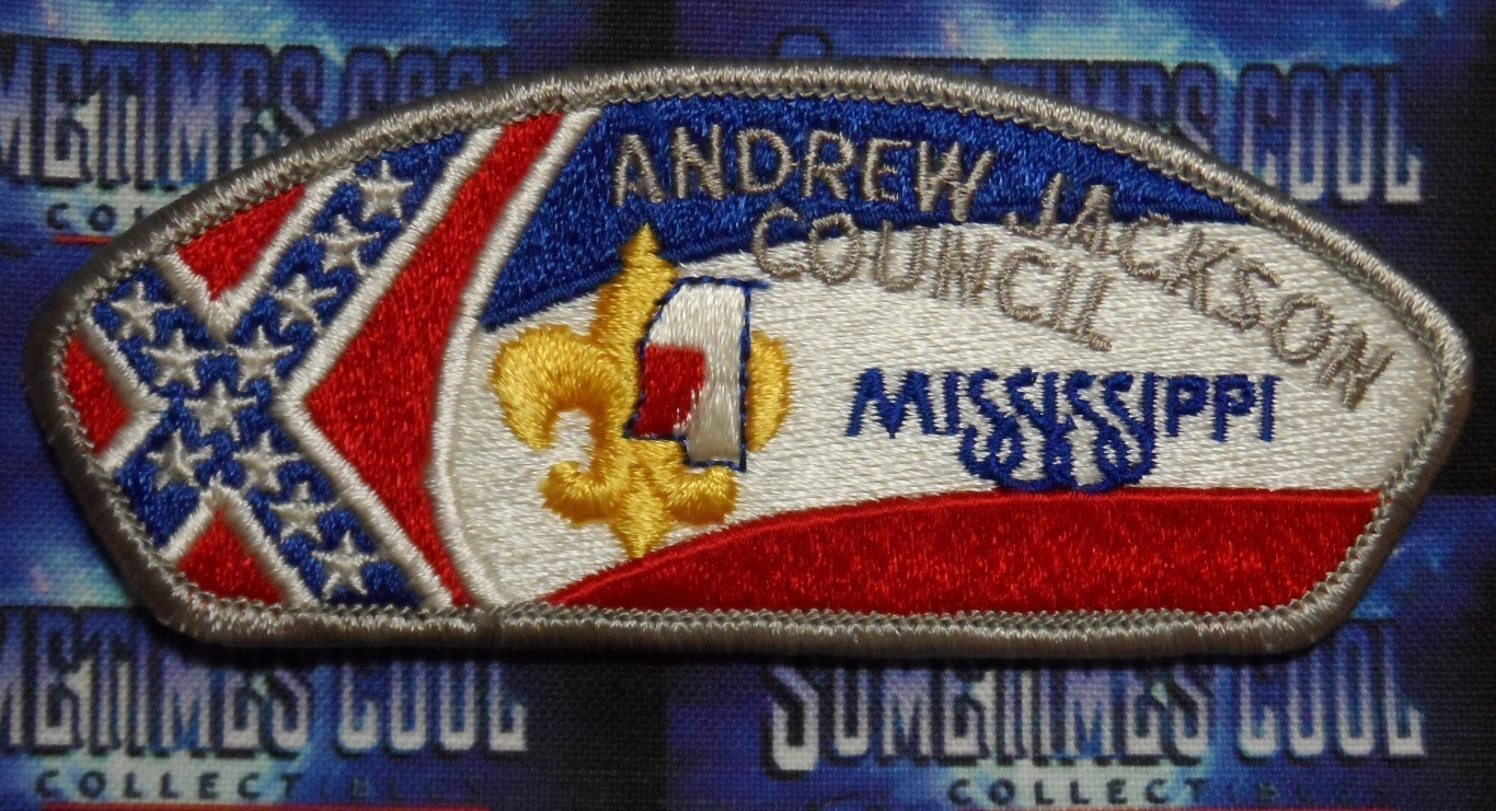 Council Patch : Andrew Jackson Council Mississippi