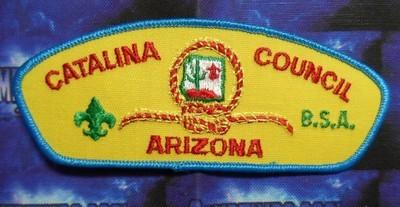 Council Patch : Catalina Area Council Arizona