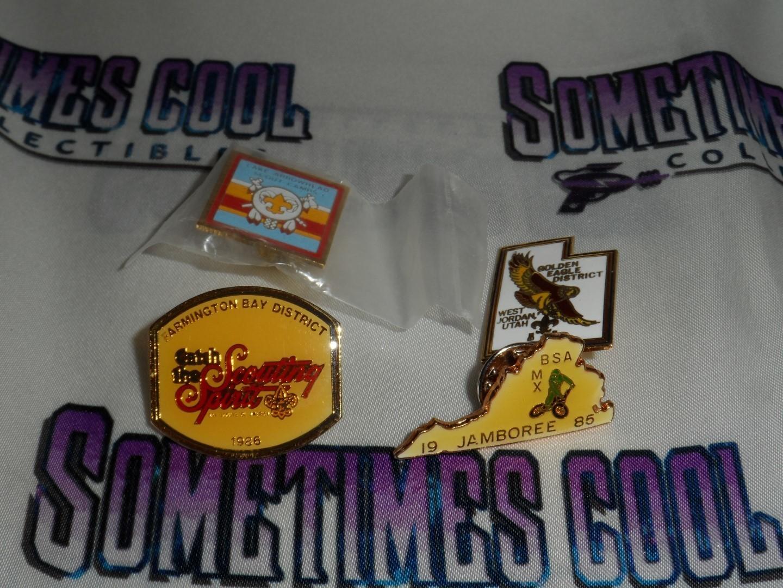 BSA Scouting Pin Set