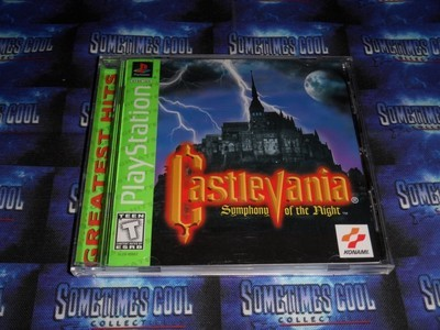 Playstation : Castlevania Symphony of the Night