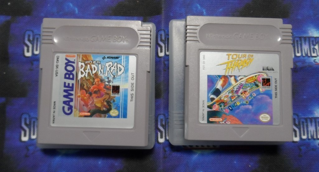Nintendo GAMEBOY : Skate or Die Two Pack