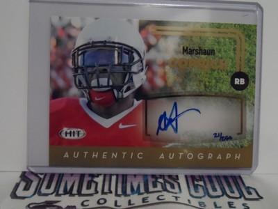 Marshaun Coprich Autograph Card