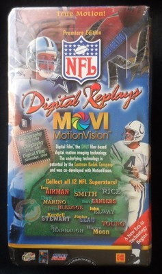 NFL Digital Replays MOVI MotionVision Cards