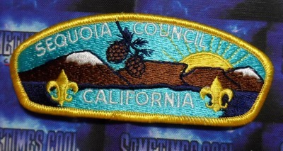 Council Patch : Sequoia Area Council California
