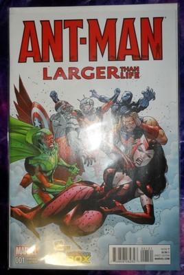 ANT-MAN Larger Than Life #1