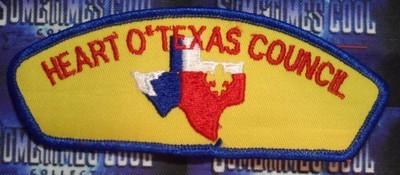 Council Patch : Heart O' Texas Council Texas