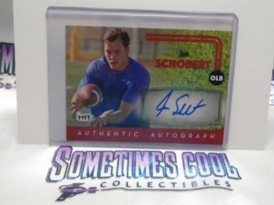 Joe Schobert Autograph Card