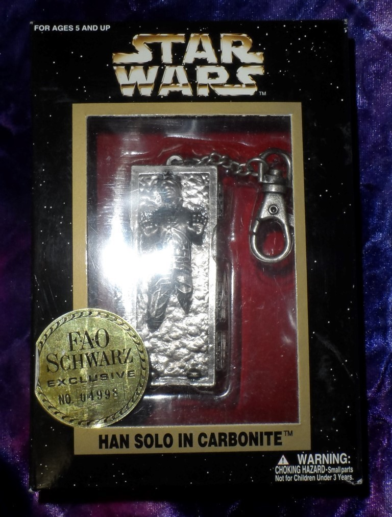 Star Wars Han in Carbonite Keychain (F.A.O. Schwarz Exclusive)