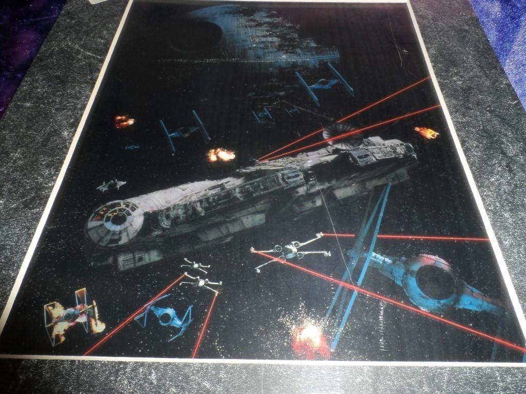 Star Wars Return of the Jedi Art Print -Millennium Falcon