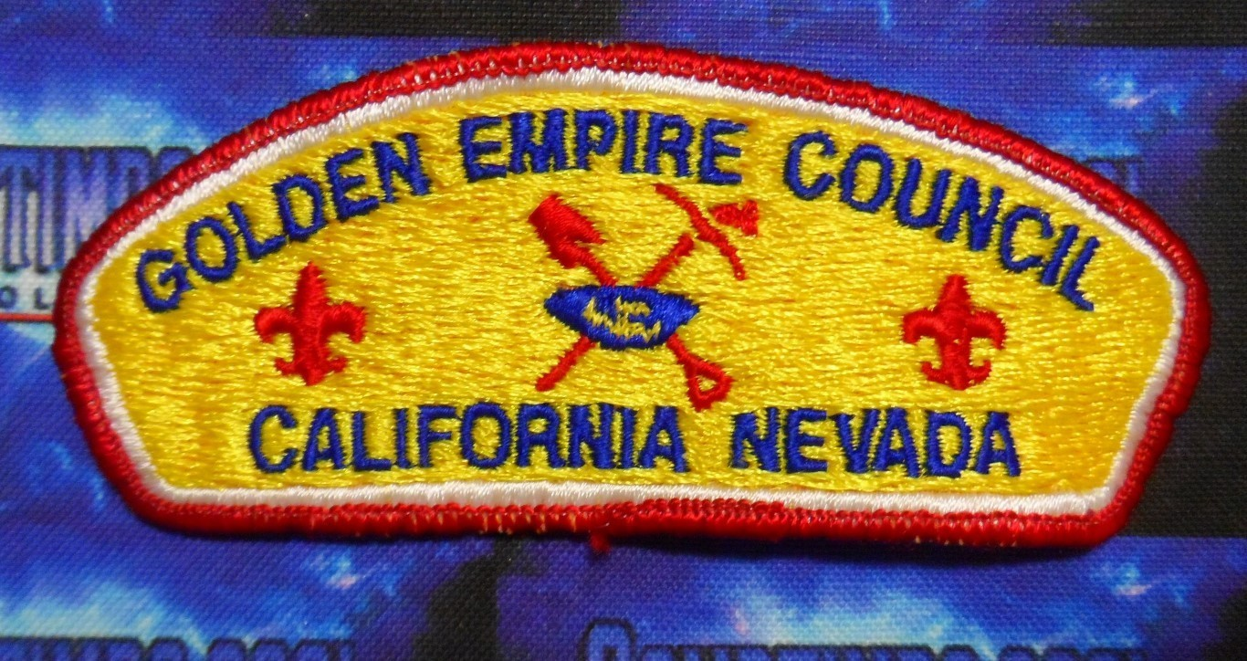 Council Patch : Golden Empire Area Council California/Nevada