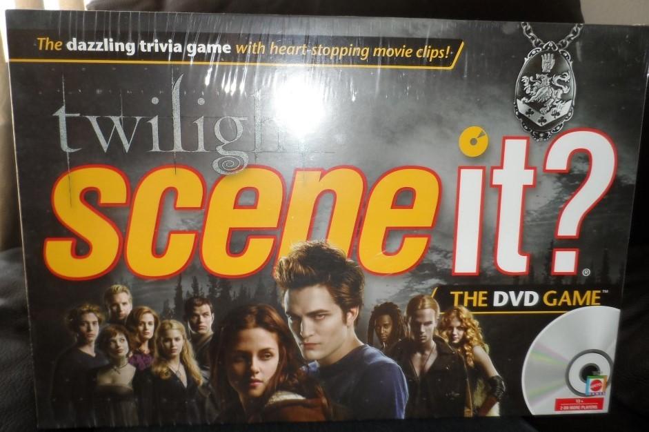 Twilight Scene It? The DVD Game