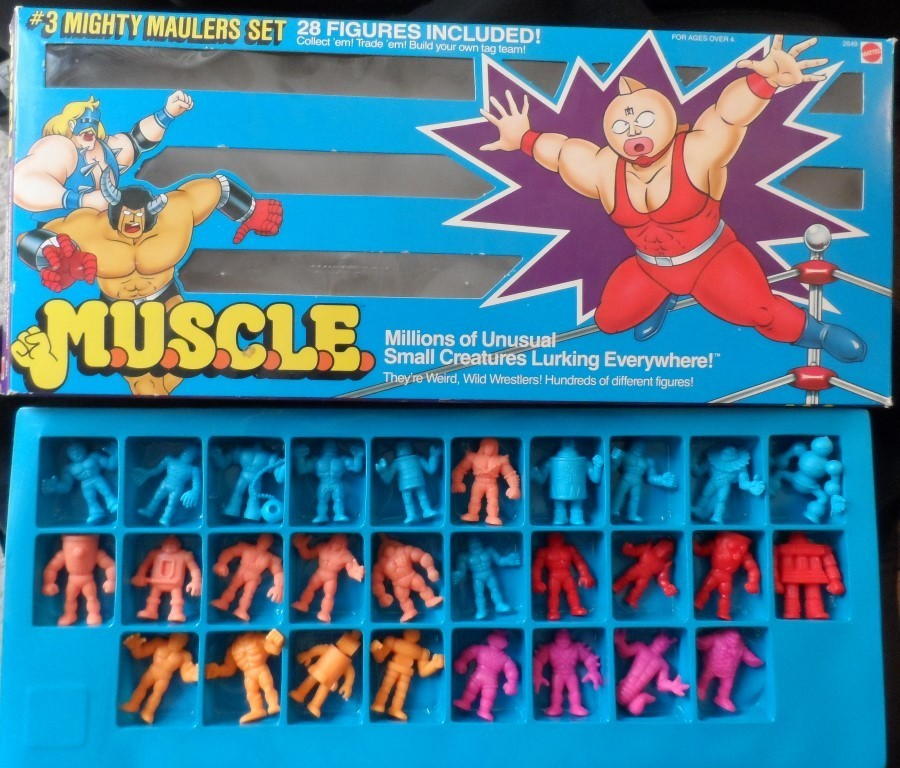 M.U.S.C.L.E Figures Set #3- Mighty Maulers Set