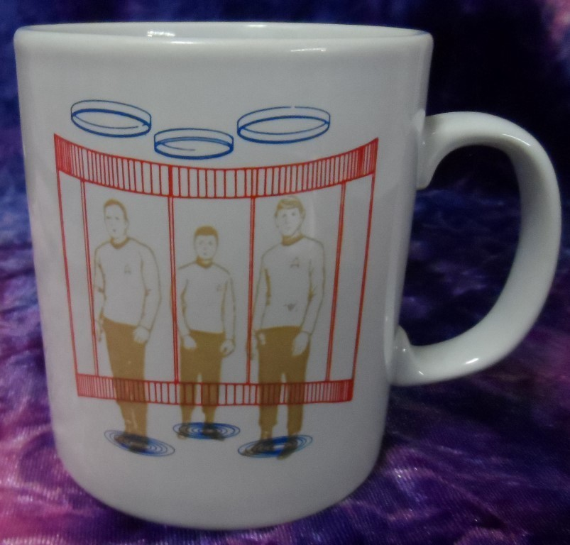"Star Trek Transporter Room ""Magic"" Mug"