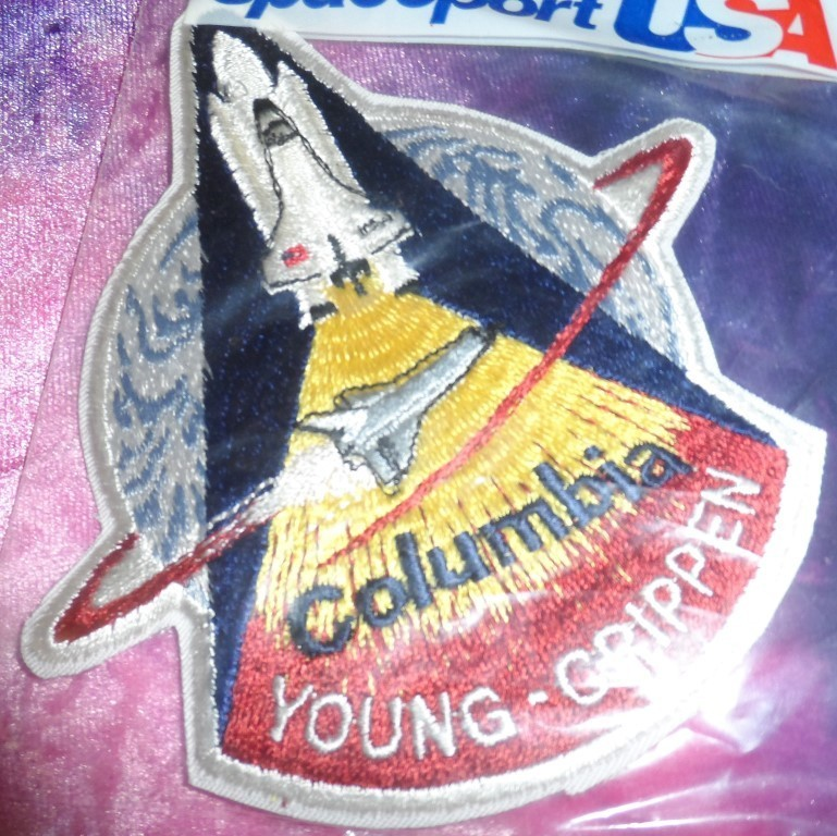 STS 1 Columbia Mission Patch