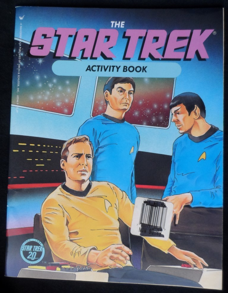 The Star Trek 1986 Activity Book