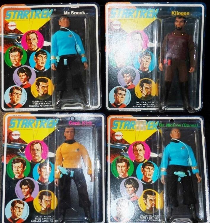 Star Trek (OST) 1974 MEGO Figures Set