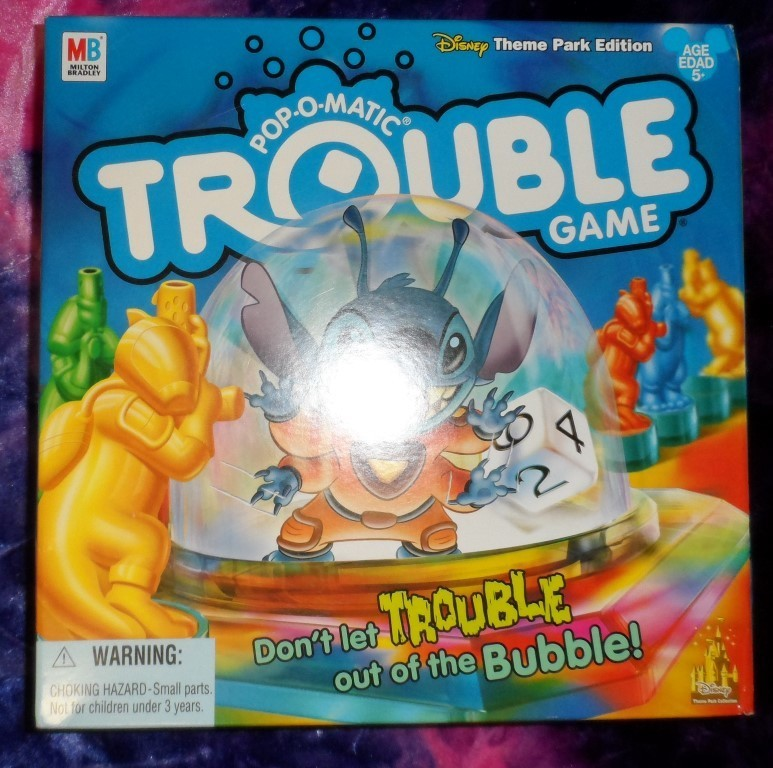 Pop-O-Matic Trouble Game - Disney Theme Park Edition