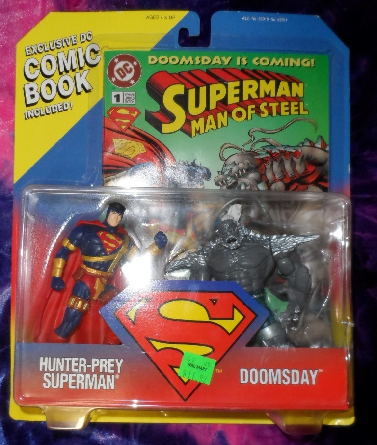 Superman Man Of Steel Action Figure Set