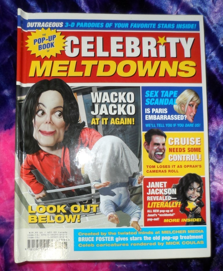 Celebrity Meltdowns Pop-Up Book