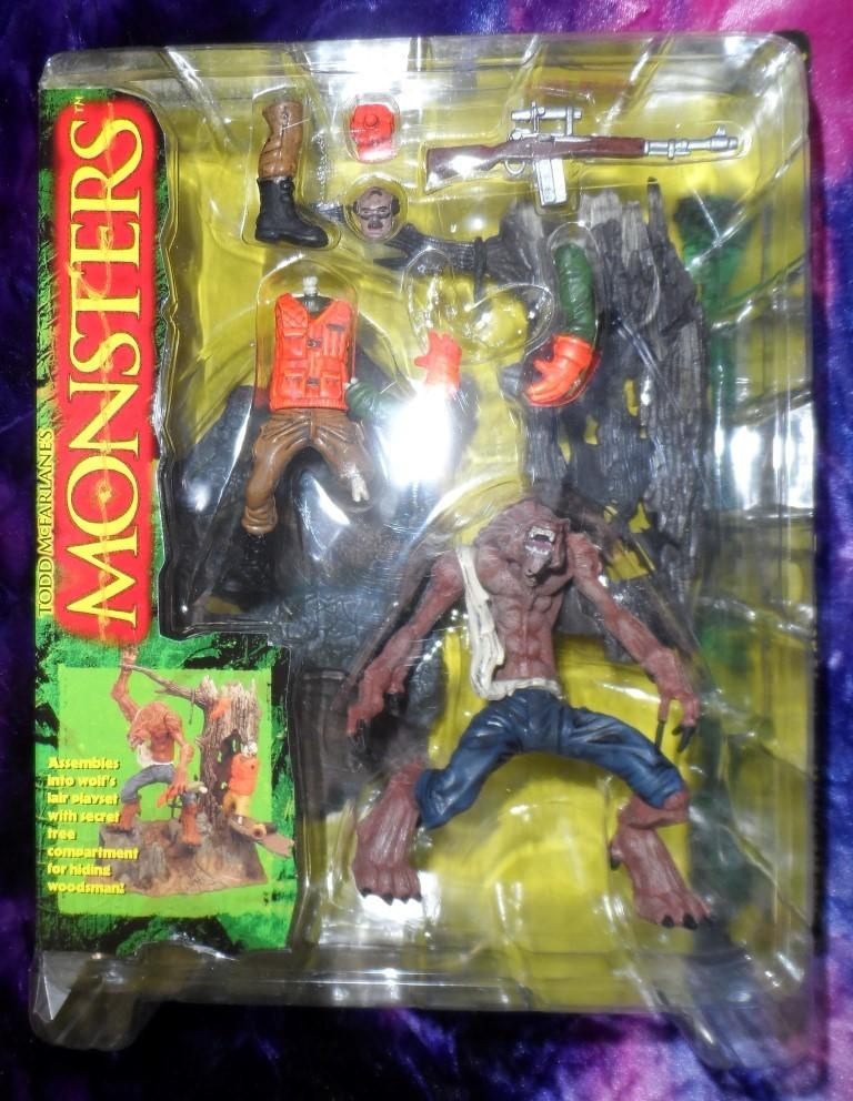 McFarlane's Monsters Werewolf Playset