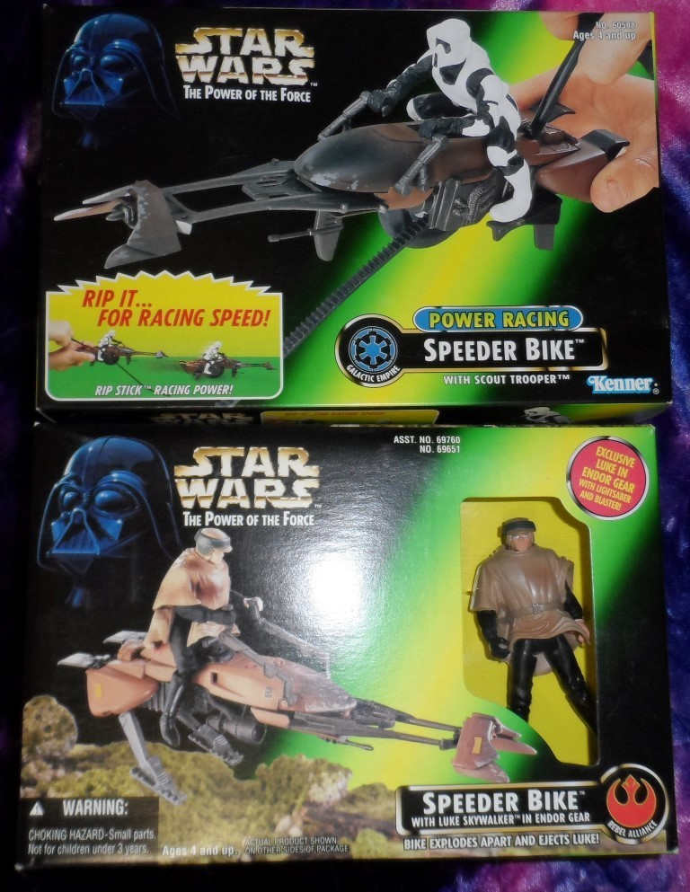 Star Wars Speeder Bikes Set