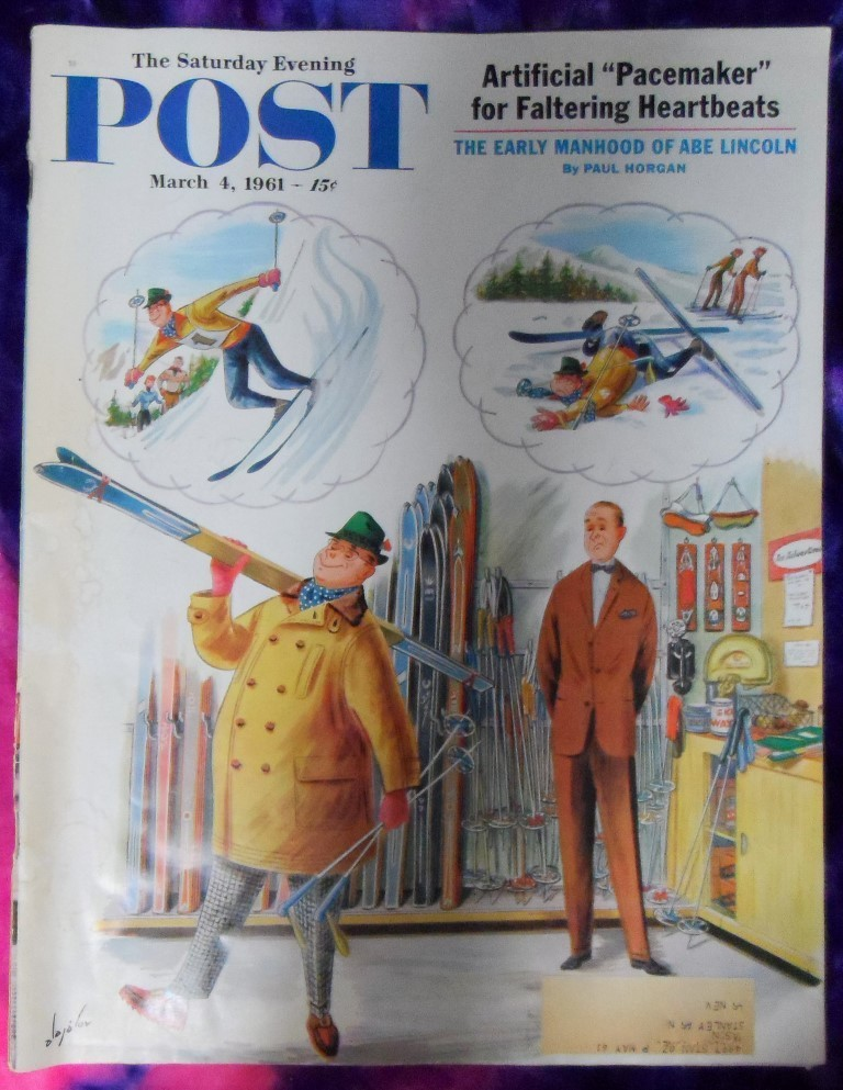 The Saturday Evening Post 03/04/1961