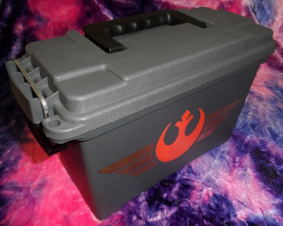 "Ammo Box Customized - Star Wars ""The Force Awakens"" Logos"