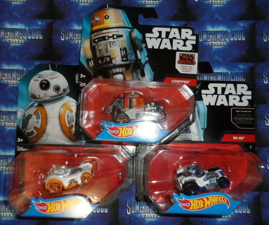 Hot Wheels Star Wars : Droids Set of 3