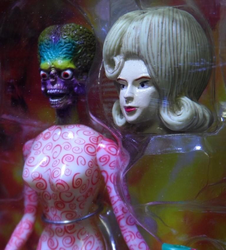 Mars Attacks Spy Girl Action Figure