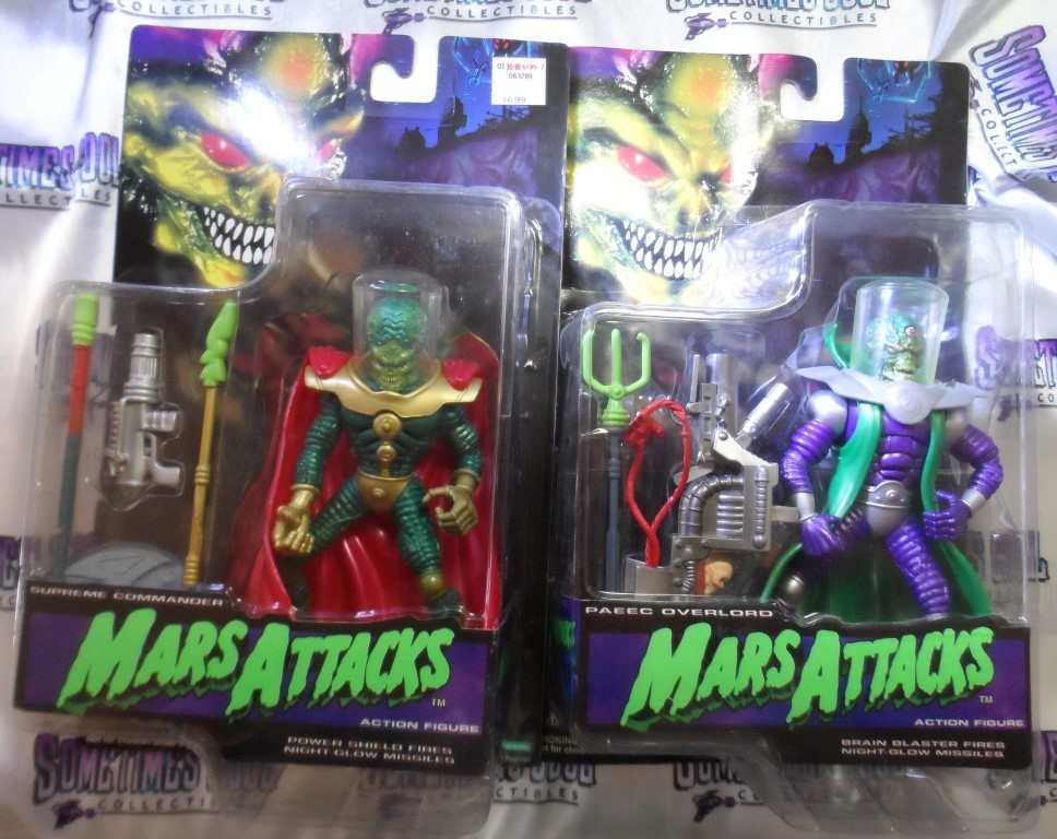 Mars Attacks! Action Figure Two Pack
