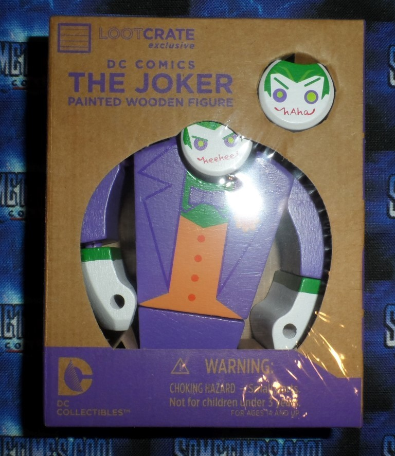 The Joker : Wooden Figure