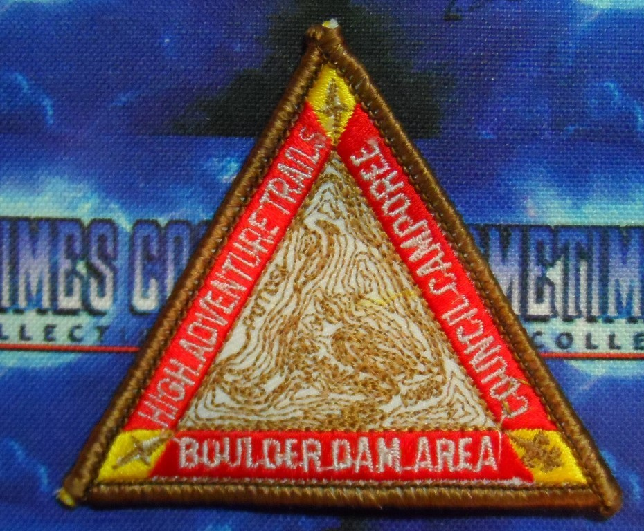 BSA Patch : High Adventure Trails Mount Potosi : Boulder Dam Area