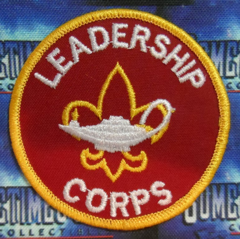 BSA Patch : Leadership Corps Patch