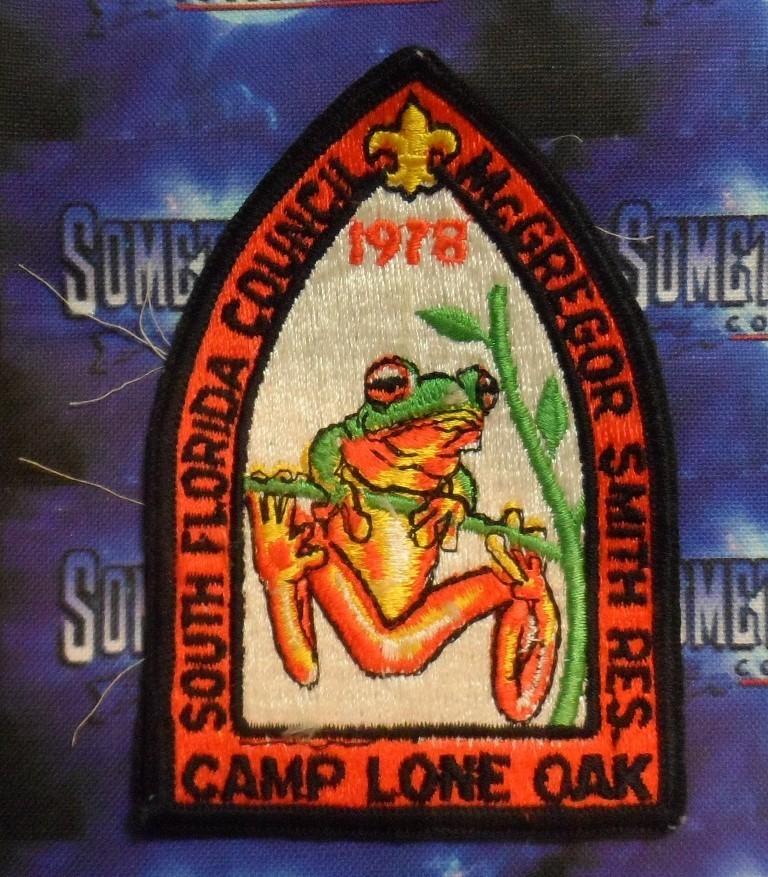 BSA Patch : South Florida Council Camp Lone Oak - Florida