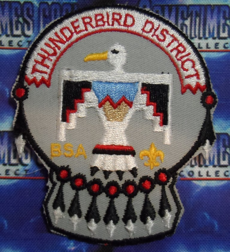 BSA Patch : Thunderbird District Illinois
