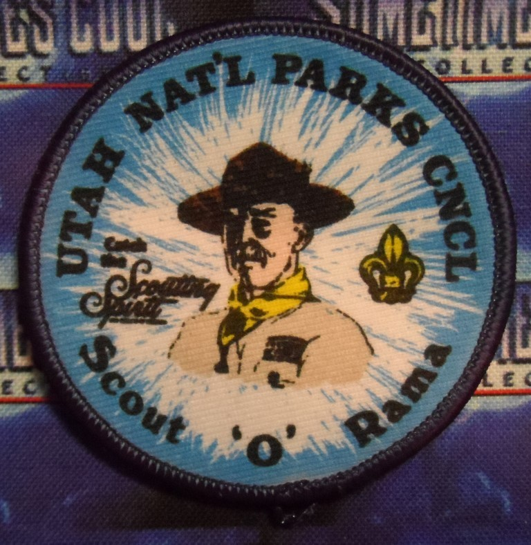 BSA Patch : Scout 'O' Rama - Utah National Parks Council