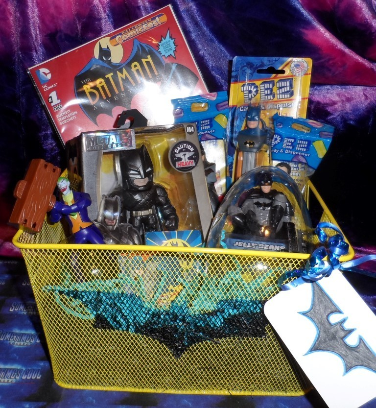 Cool-lectibles Gift Basket : Batman!