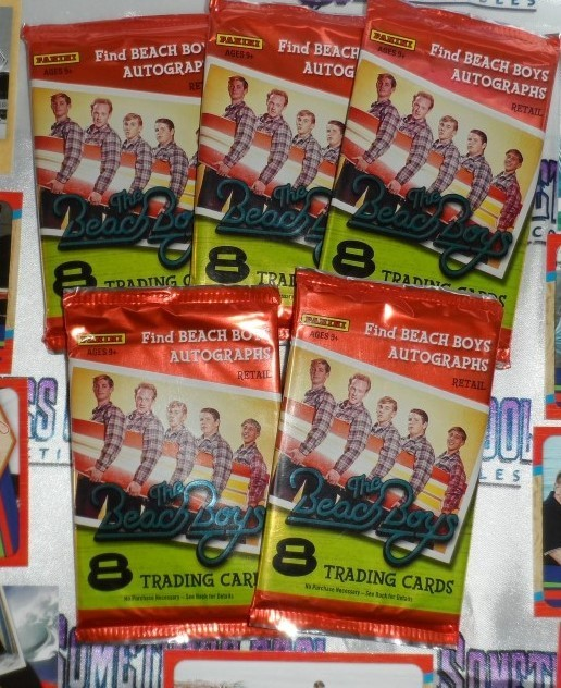 The Beach Boys Trading Cards Set