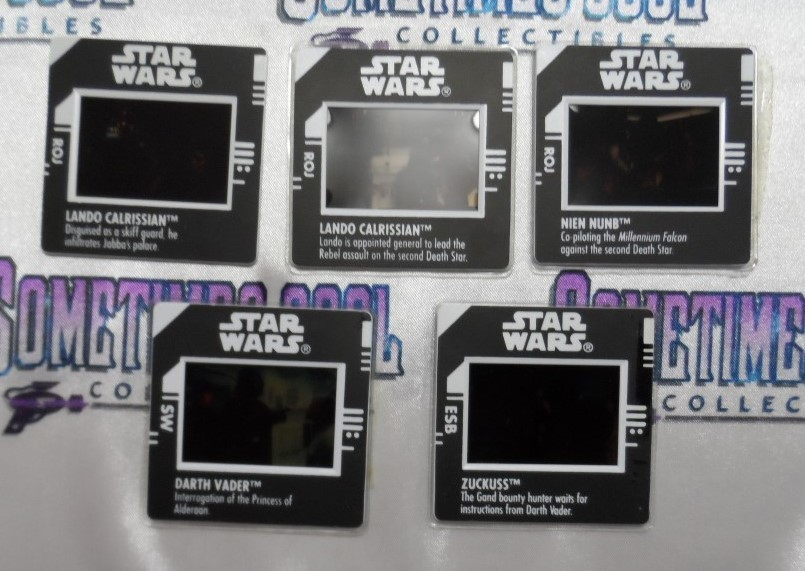 Star Wars : Freeze Frame Action Slides Set