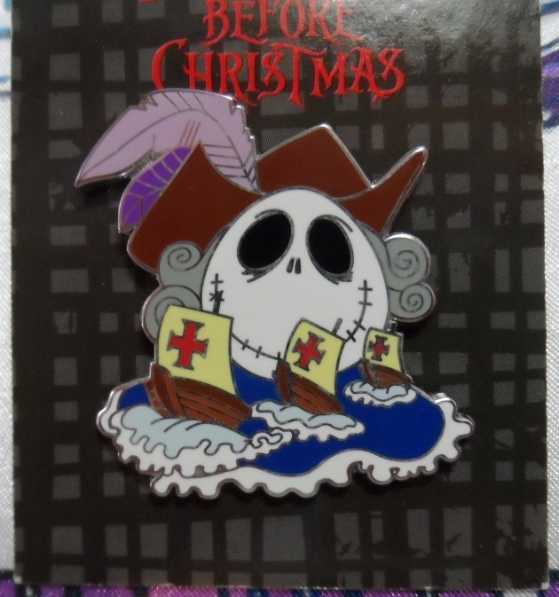 Nightmare Before Christmas Pin - Columbus Day