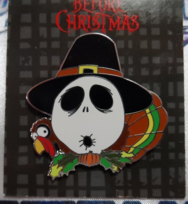 Nightmare Before Christmas Pin - Thanksgiving Day