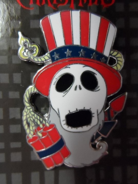Nightmare Before Christmas Pin - Fourth of July