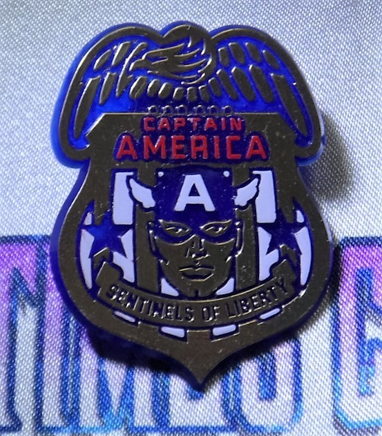 Captain America : Sentinels of Liberty Pin
