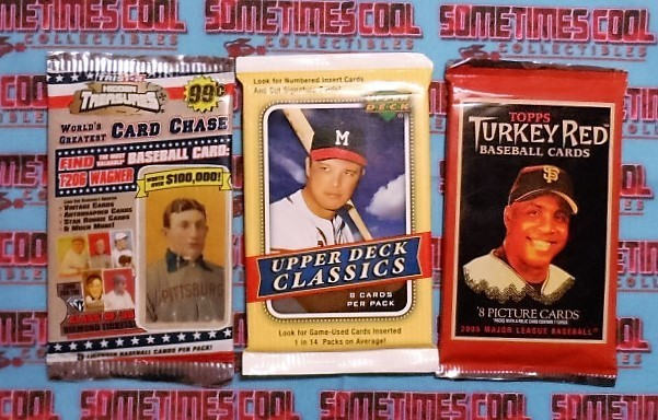 Baseball Trading Cards (3 Pack)