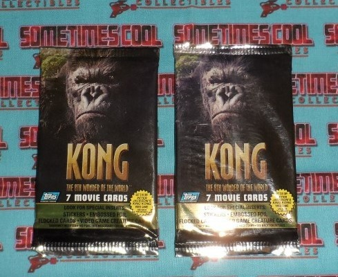 Kong Movie Trading Cards 2 Pack